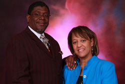 Pastor Ezra and First Lady Patricia Fagge'Tt of Unity Temple COGIC